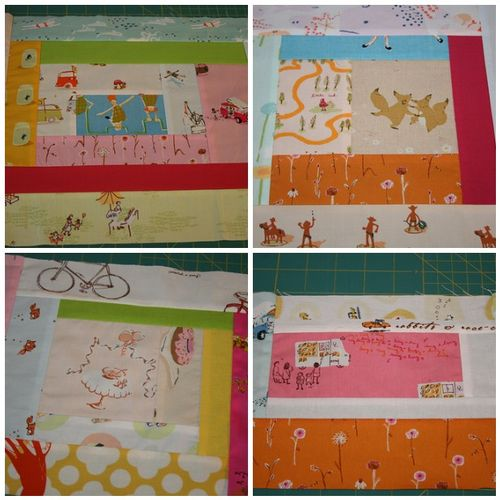 "1. <a href=""http://flickr.com/photos/10020816@N05/3772830491/"" />playing with fabrics</a>, 2. <a href=""http://flickr.com/photos/10020816@N05/3772827285/"">more blocks</a>, 3. <a href=""http://flickr.com/photos/10020816@N05/3772829473/"">Another one</a>, 4. <a href=""http://flickr.com/photos/10020816@N05/3773635658/"">Blocks</a>"