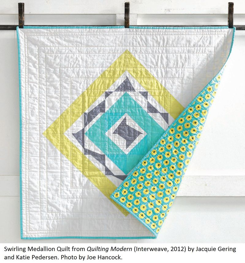 Swirling Medallion Quilt
