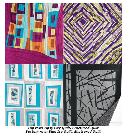 Collage of quilts
