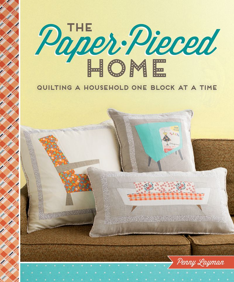 The Paper-Pieced Home - jacket art